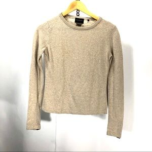 Barbour sweater wool blend size 8
